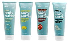 G-Free Foodie Guide to Gluten Free Cosmetics, Make-Up & Body Care - Bliss Body Butters!