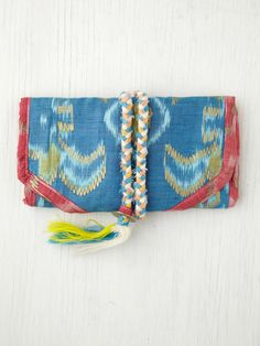 Cleobella Ikat Jewelry Roll at Free People Clothing Boutique