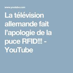 La télévision allemande fait l'apologie de la puce RFID!!! - YouTube