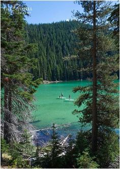 Devils Lake Oregon ♥ look how beautiful it is baby girl, this looks like a place we would just love X