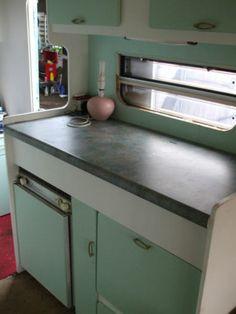 shabby chic avendale 2berth caravan -vintage-retro-