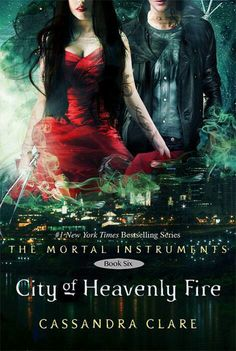 CITY OF HEAVENLY FIRE COVER!!!!!! IT'S SO BEAUTIFUL! IZZY AND ALEC!<< ALSO- ITS! FINALLY! HERE!