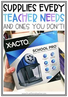 Supplies Every New Teacher Actually Needs | True Life I'm a Teacher