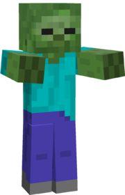Zombie Minecraft Hostile Mobs Wiki