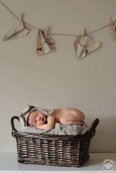 Little Aviator - Lana Sky Photography Blog - Newborn Photography Ideas