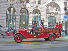 Kentfield Fire Protection District (CA) 1922 American La France #antique #fire #engine #setcom
