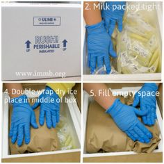 How to Ship Milk Donations. 5 Tips for Save Shipping {www.immb.org}