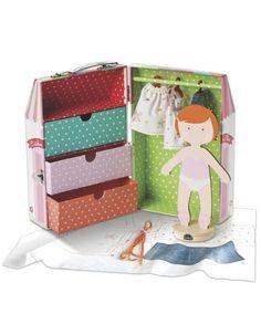 Kit para diseñar ropa para muñecas