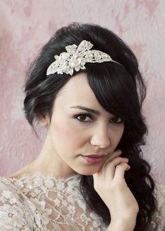 sarah seven headpiece Wedding Hair And Makeup, Wedding Beauty, Bridal Hair, Hair Makeup, Hair Wedding, Sarah Seven, Bride Hairstyles, Cute Hairstyles, Hairdos