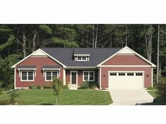 Bungalow House Plan with 1568 Square Feet and 2 Bedrooms from Dream Home Source   House Plan Code DHSW68063