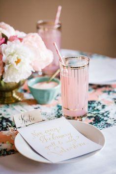 Valentine Soiree - Think Pink Valentine Drink Valentine Drinks, Love Valentines, Holiday Drinks, Holiday Decor, Pink Cocktails, Fancy Drinks, Pink Drinks, Yummy Drinks, Recipe Filing