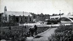 Trolley Waiting Station and Bridge, Entrance to Como Park, St. Duluth Minnesota, West Side, Twin Cities, Lake Superior, Inner Child, Old Pictures, Outdoor Travel, Historical Photos, Minneapolis