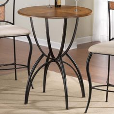 Hillsdale Furniture 4137PTB Pacifico Bar Height Bistro Pub Table