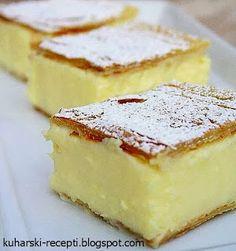Kuharski recepti : Krempita