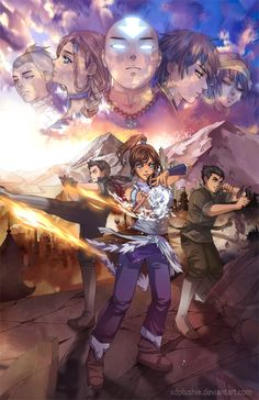 Legend of Korra...this picture it...awesome.