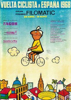 a vueltas con la vuelta: Libros de Ruta Vuelta Ciclista a España 1960 - 1969                                                                                                                                                                                 Más