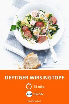 Deftiger Wirsingtopf - smarter - Kalorien: 192.56 Kcal - Zeit: 15 Min. | eatsmarter.de