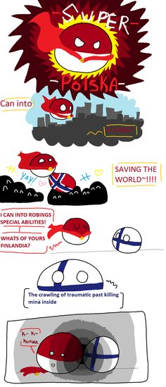SUPER POLSKA! | Polandballs Countryballs