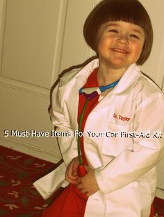 Five Must-Have Items For Your Car First-Aid Kit via The Dose of Reality #healthyhabits #cgc