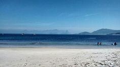 Vista da praia de Itaipu.