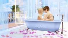 Sims 4 CC's - The Best: Couple pose by KS Sims