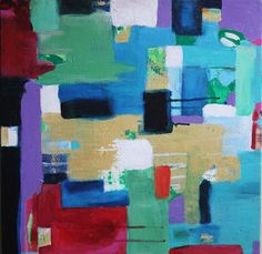 wheeler county - original abstract painting