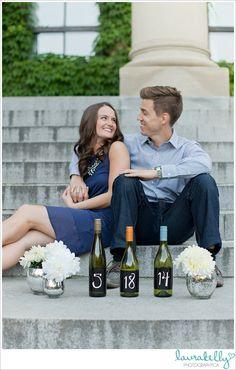 Laura Kelly Photography Blog :: Ottawa Wedding and Engagement Photographer: kim + jeremy   a romantic downtown engagement #savethedate #engagement