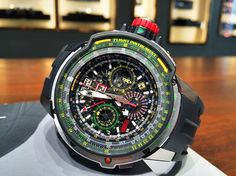 Richard Mille RM39-01 Flight Instrument.
