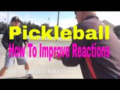 Pickleball: Simple Ways to Improve Reaction Time (Part 1) - YouTube #learntennisfast