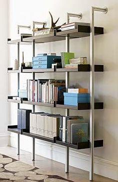 Treku Bookcase modern wall shelves