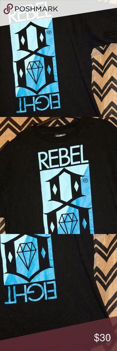 Rebel Eight XL t-shirt Good condition length 30 shoulder 24 chest 25 waist 24 rebel eight Shirts Tees - Short Sleeve