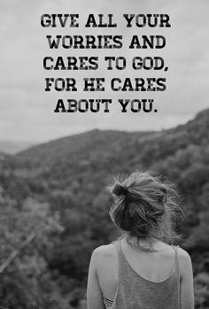 God cares.