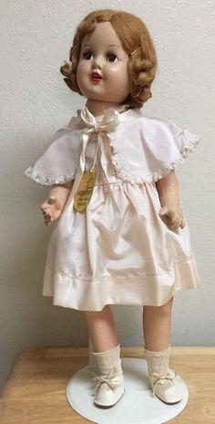 "Horsman ROSEBUD 23"" Composition/ Cloth Doll Original Clothes -Tag-Box | Dolls & Bears, Dolls, By Brand, Company, Character | eBay!"