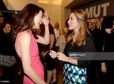 Actresses Crystal Reed (L) and Sasha Alexander attend the Helmut Newton opening night exhibit at Annenberg Space For Photography on June 27, 2013 in Century City, California.