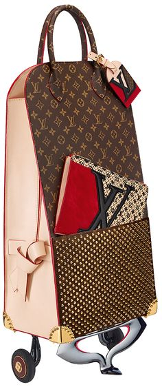 Yes, this really is from the Louis Vuitton Monogram Iconoclasts Bag Collection.  Someone, somewhere will think this is worth over £1,000.   Crazy.