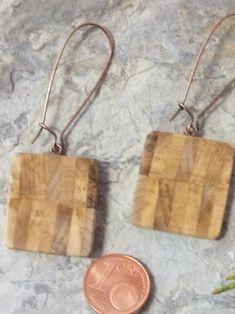 Dazu wurde das Holz einer ca. 100 Jahre alten Magnolie verwendet Hoop Earrings, Jewelry, Magnolias, Ballpoint Pen, Arts And Crafts, Ear Piercings, Handarbeit, Timber Wood, Schmuck