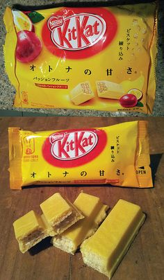 Passionfruit. Loved it. The best way I can describe it is a fruity flavored (but not fake fruity) white chocolate with kit kat wafers.