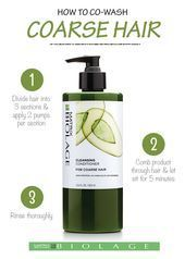 Matrix Biolage Cleansing Conditioner For Coarse Hair This low-lather, fast rinsing, soap-free (no poo shampoo) Cleansing Conditioner for coarse hair. Eyebrows, Eyeliner, Natural Hair Tips, Natural Hair Styles, Mascara, Matrix Biolage, Avocado, Cleansing Conditioner, Beauty