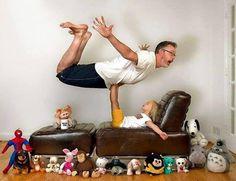 Eğlenceli Baba & Kız Fotoğrafları