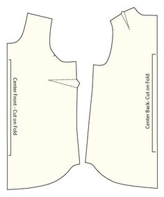 How to Make a Tank Top Pattern - Part 2