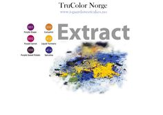 TruColor Natural FoodColor Extract Powder, intense colors to paint sugarpaste or to color your dough.