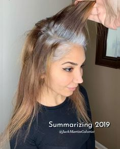 Trendfrisuren William, akkurater Mittelscheitel oder This particular language Slice Grey Hair Don't Care, Long Gray Hair, Silver Grey Hair, Grey Hair Video, Grey Hair Transformation, Gray Hair Highlights, Gray Hair Growing Out, Transition To Gray Hair, Crimped Hair