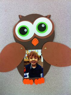 "Fall Owl Craft for Preschool / Kindergarten ""Whoooo's A Great Student?""…"