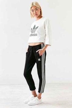 adidas Originals + UO Diamond Jacquard Track Pant - Urban Outfitters