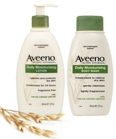 aveeno lotion and body wash samples for free!