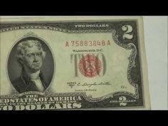 In this video we do a daily bill search, where we look through our Pocket Change in hopes of finding things worth tons of money. Rare Coins Worth Money, Valuable Coins, Two Dollars, Error Coins, Coin Worth, Coin Values, Old Money, Old Coins, Coin Collecting