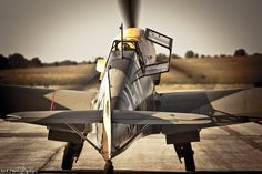 Bf-109 taxiing
