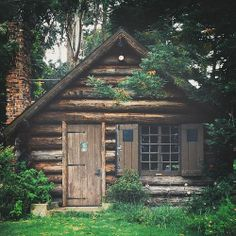 There's a certain amount of magic in woodland cabins.