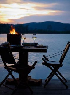 If you could be anywhere in the world right now, where would you be? we have a few ideas...#Summerdreaming night by the lake