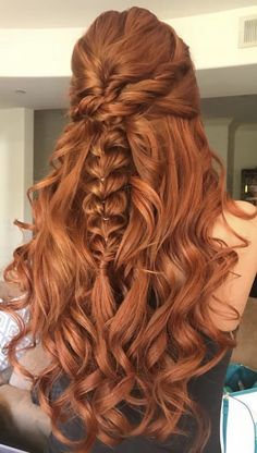 erdbeerblond Hair Replacement And Restoration Techniques There has been a great deal of progress in Ginger Hair Color, Red Hair Color, Curly Ginger Hair, Cheveux Oranges, Auburn Hair, Hair Images, Aesthetic Hair, Braided Hairstyles, Formal Hairstyles